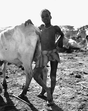 Menino da tribo Dhasanech, Etiópia.