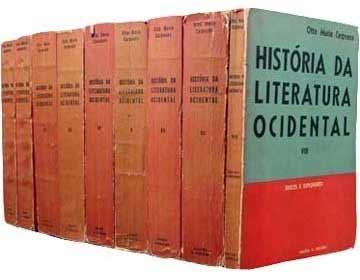 Primeira Edição da História da Literautra Universal, de Otto Maria Carpeaux