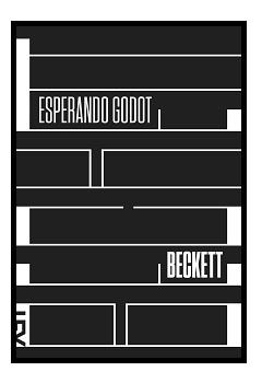 """Samuel Beckett, """"Esperando Godot"""""""