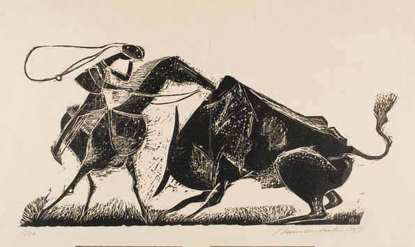 gravura de Hansen Bahia