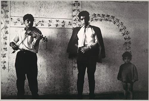"fotografia de Josef Koudelka, do livro ""Gypsies"""