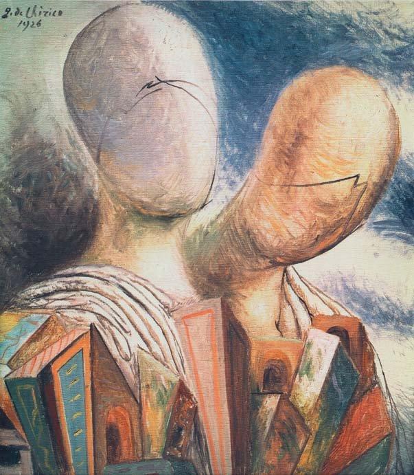 """Giorgio De Chirico, """"Gli sposi"""" (1926)"""