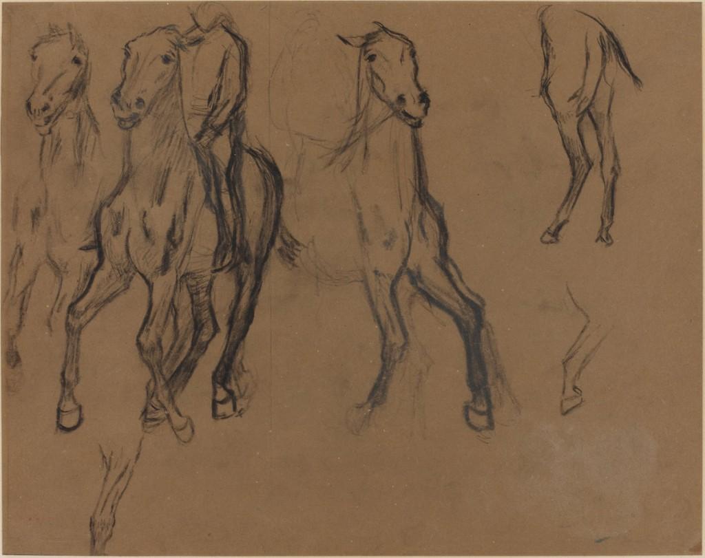 desenho de Degas.