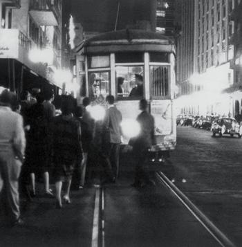 fotografia de Sâo Paulo, entre as décadas de 1930 e 40.