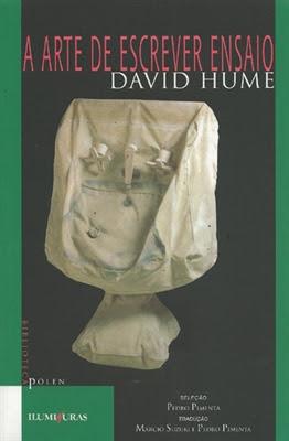 """Hume, """"A arte de escrever ensaios"""""""
