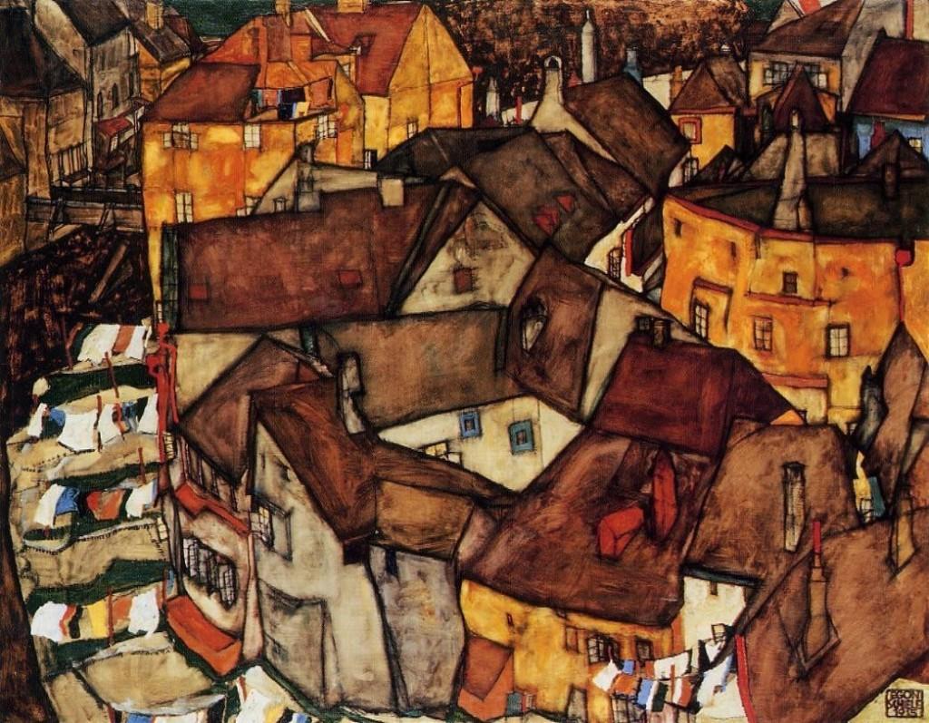 pintura de Egon Schiele
