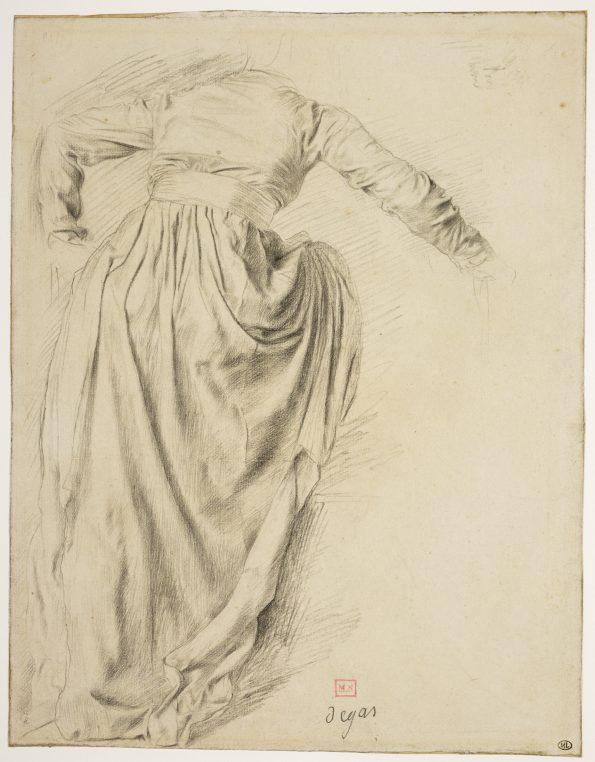 Esboço, Edgar Degas