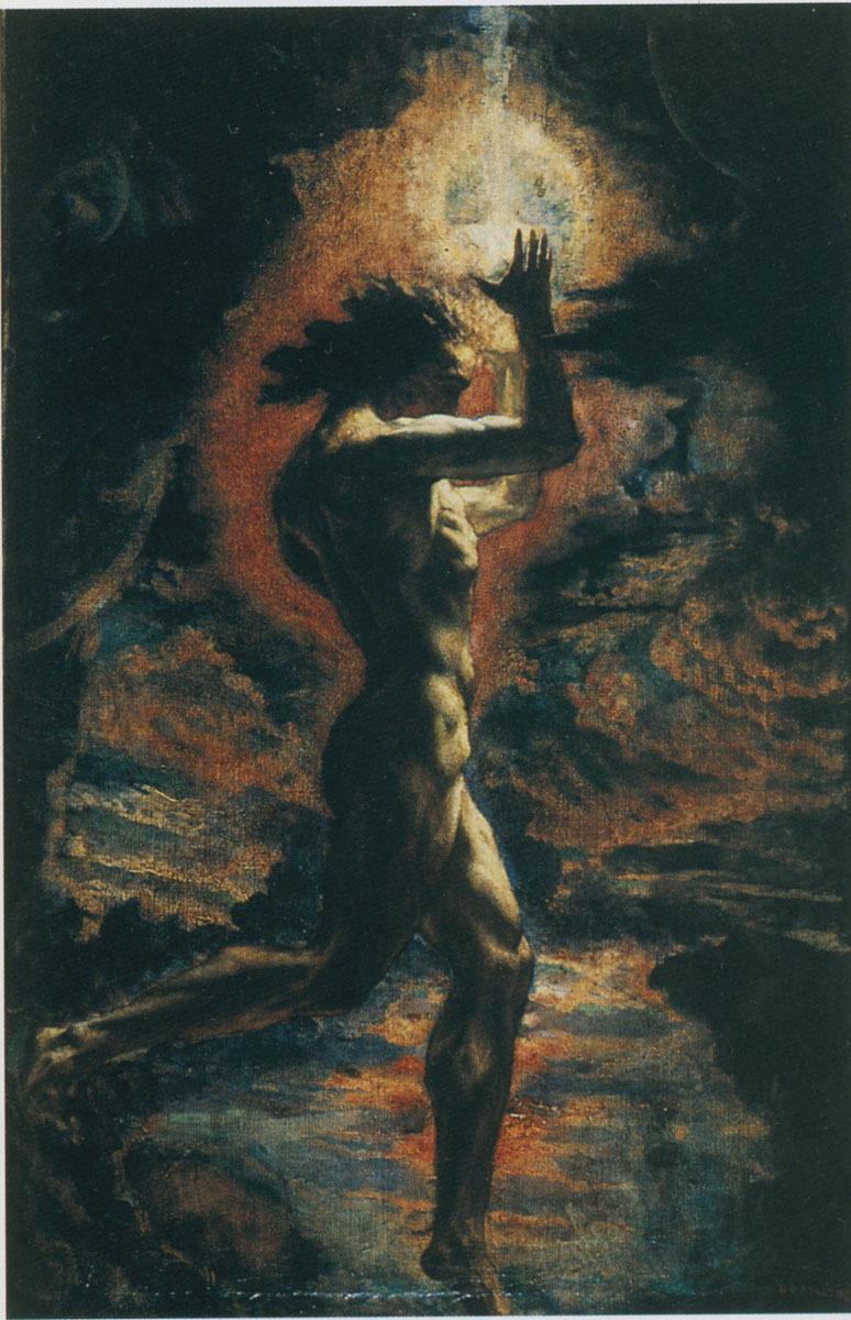 "Jean Delville, ""Prometheus"", 1907"